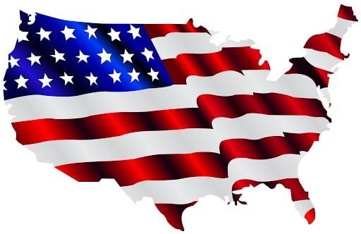 American Flag Hintergrundbild