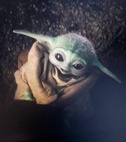 Baby Yoda Cute Wallpaper