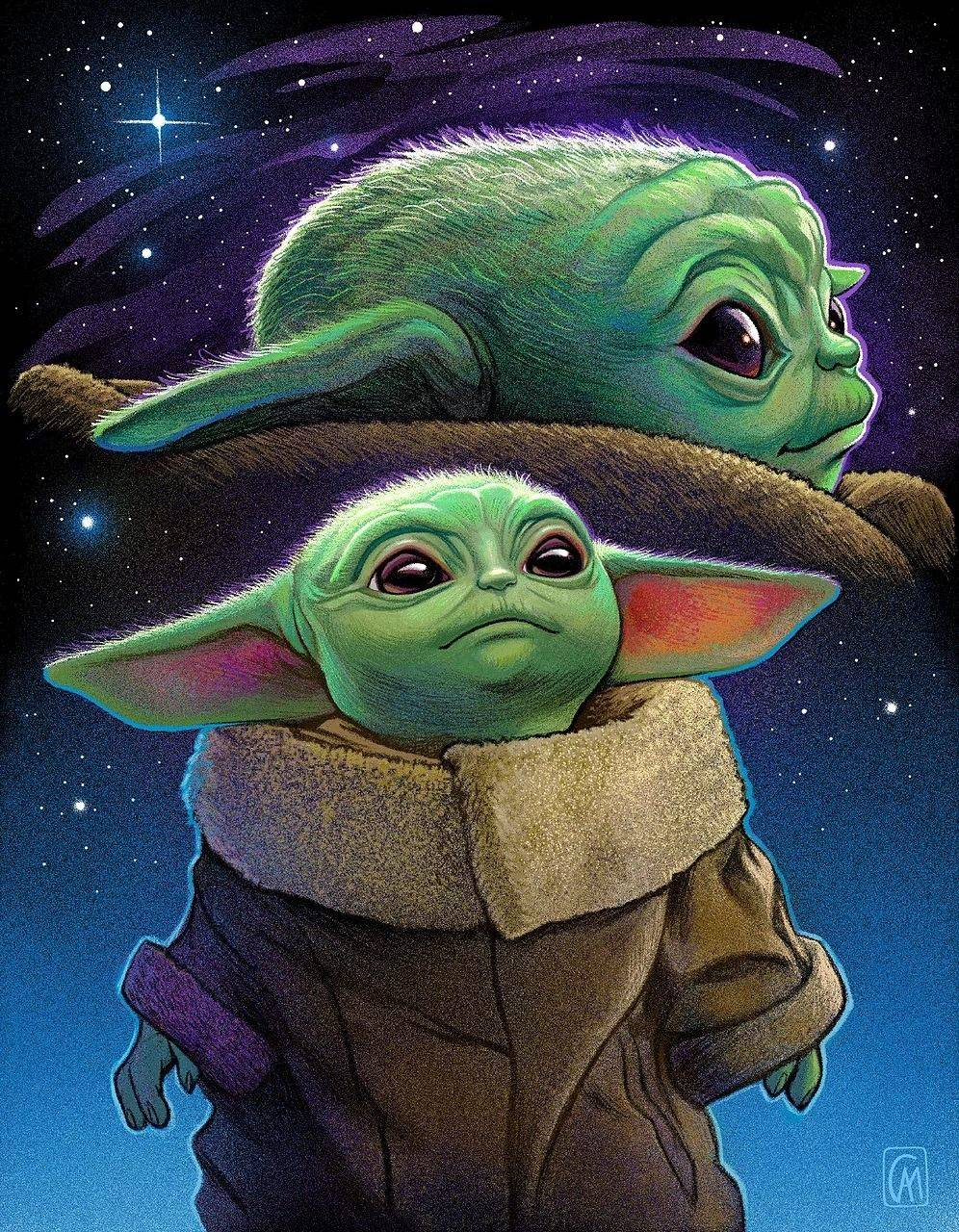 Baby Yoda Wallpaper Nawpic