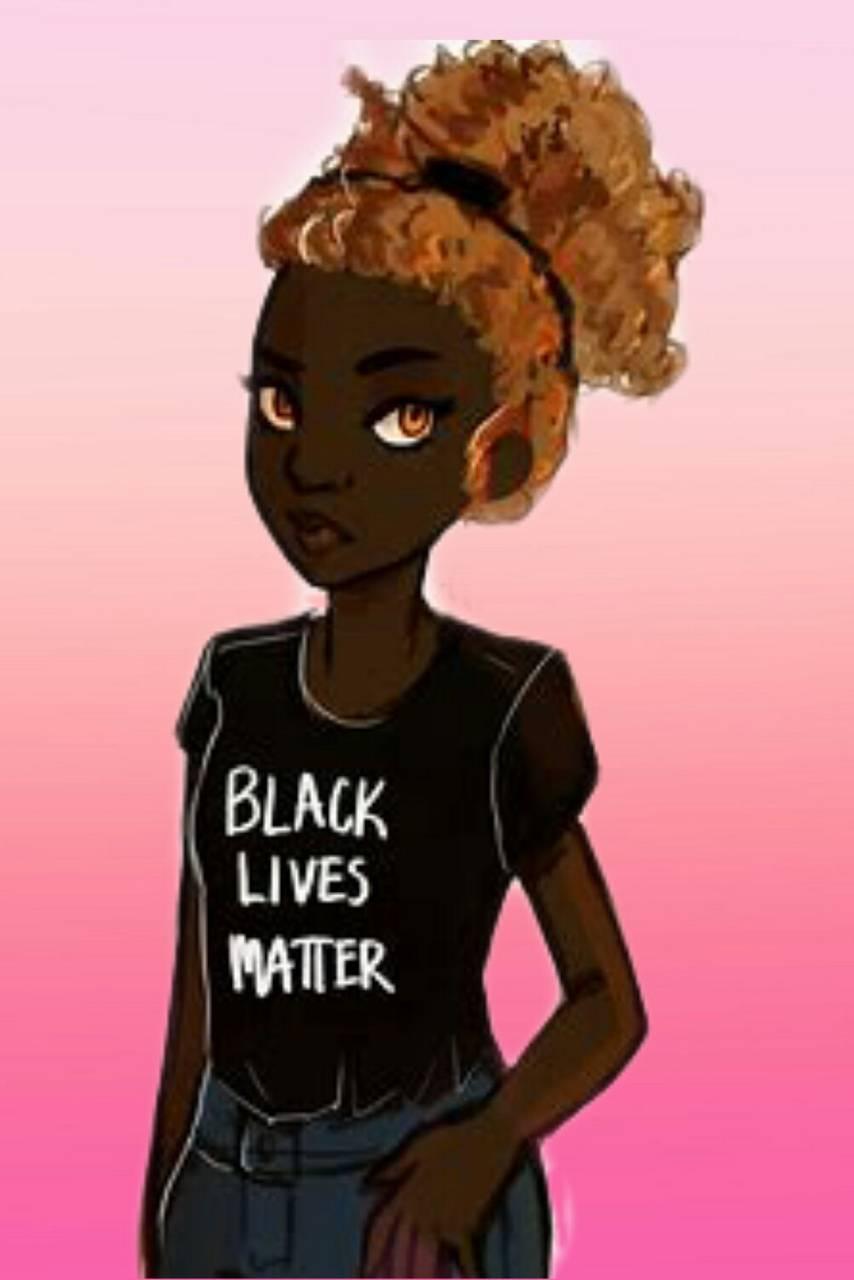Back Lives Matter Fond d'écran