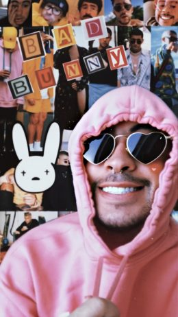 Bad Bunny iPhone Wallpaper