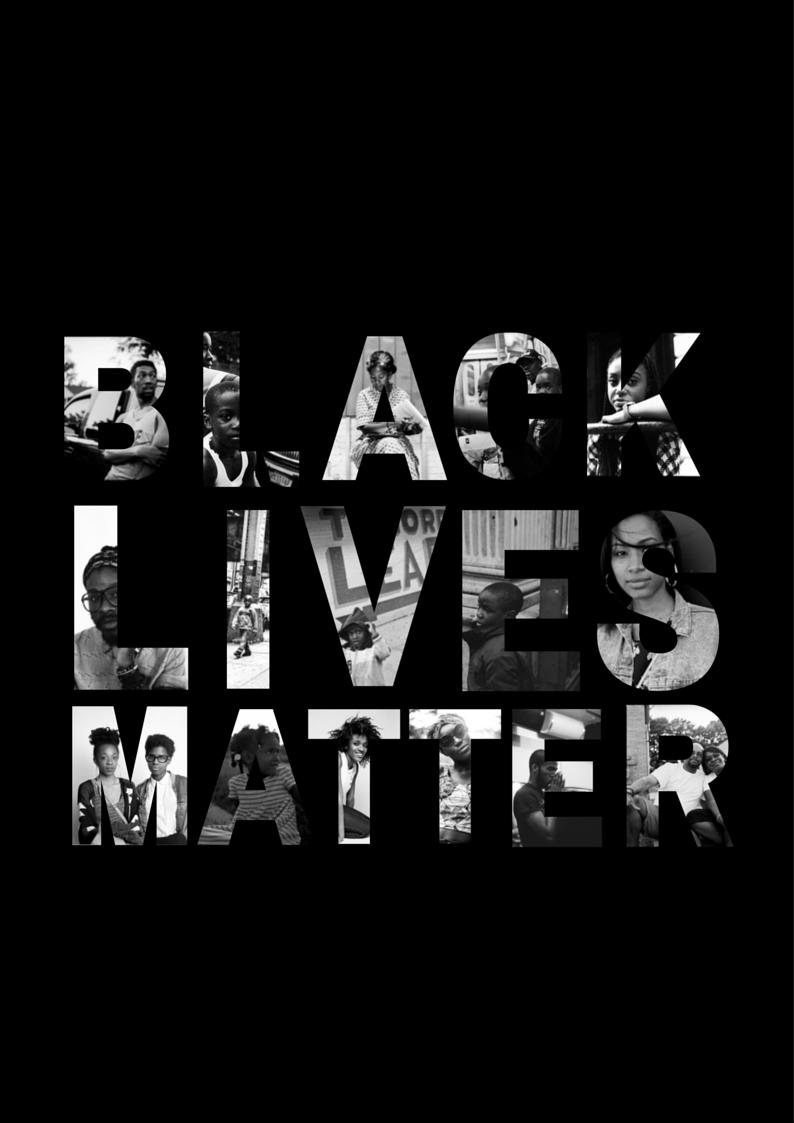 Black Lives Matter Hintergrundbild