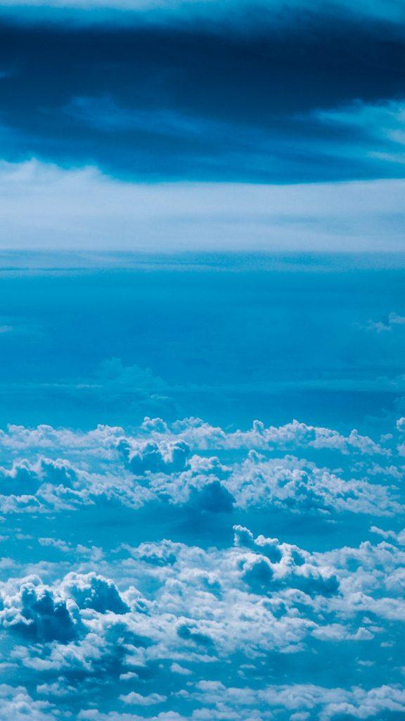 Blue Hintergrundbild
