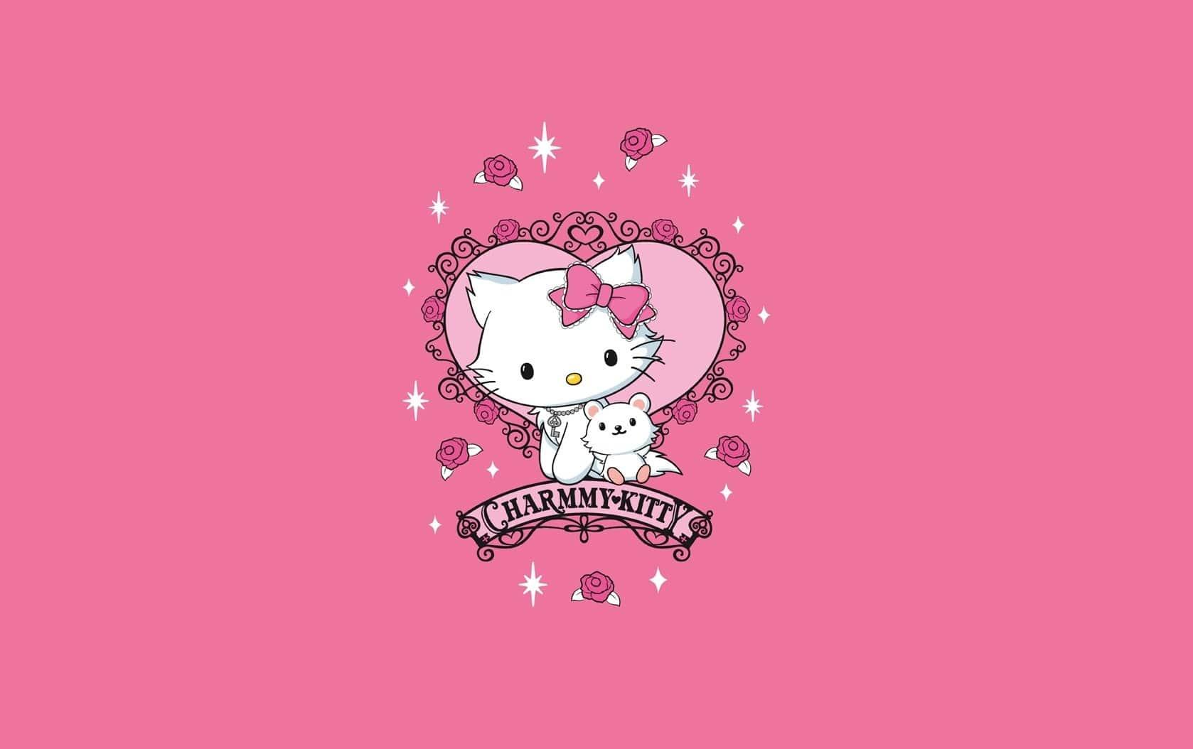 Hello Kitty Fond D Ecran Nawpic