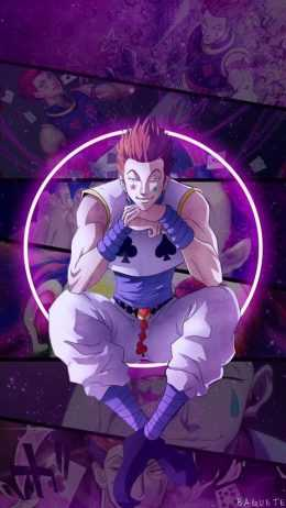 Hisoka phone Wallpaper