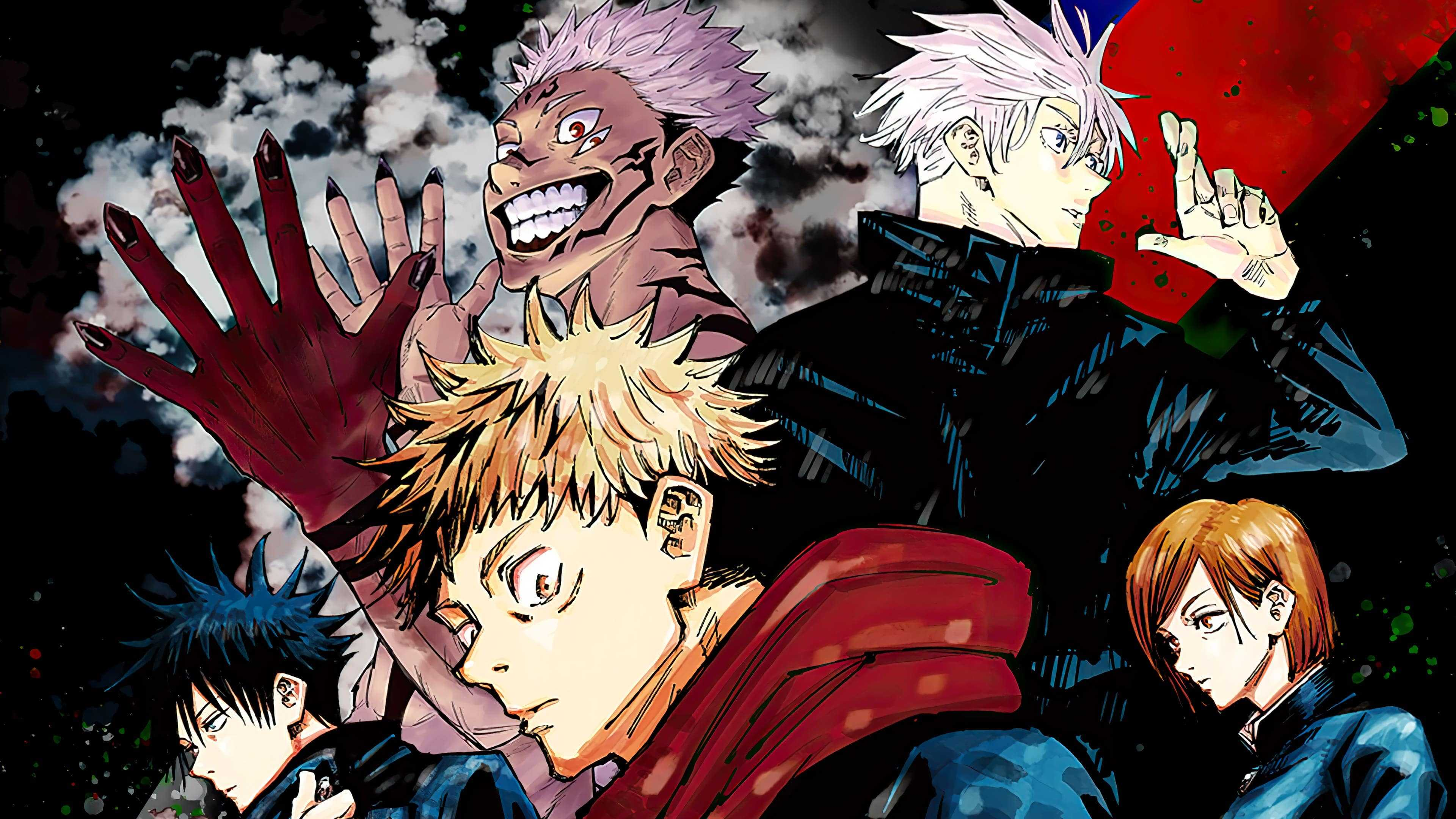 Jujutsu Kaisen Phone Wallpaper