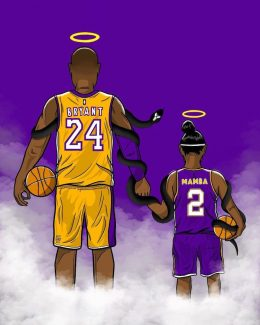 Kobe and Gigi Wallpaper