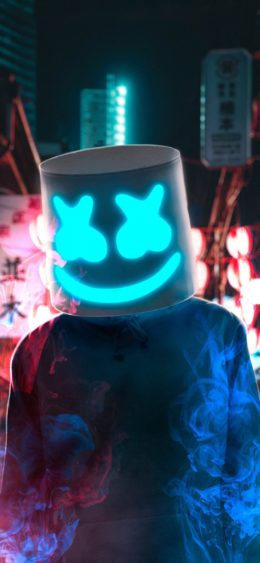 Marshmello Face Wallpaper