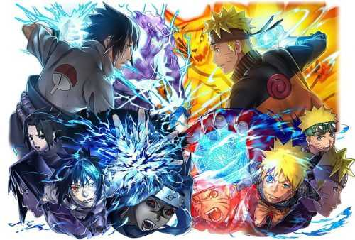 Naruto and Sasuke Wallpaper