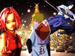Naruto Christmas Wallpaper