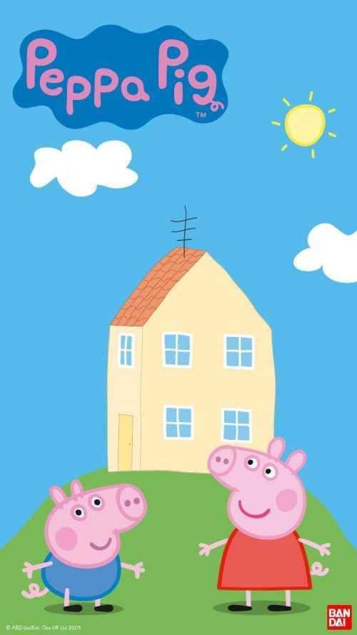 Peppa Pig House Fond d'écran - NawPic