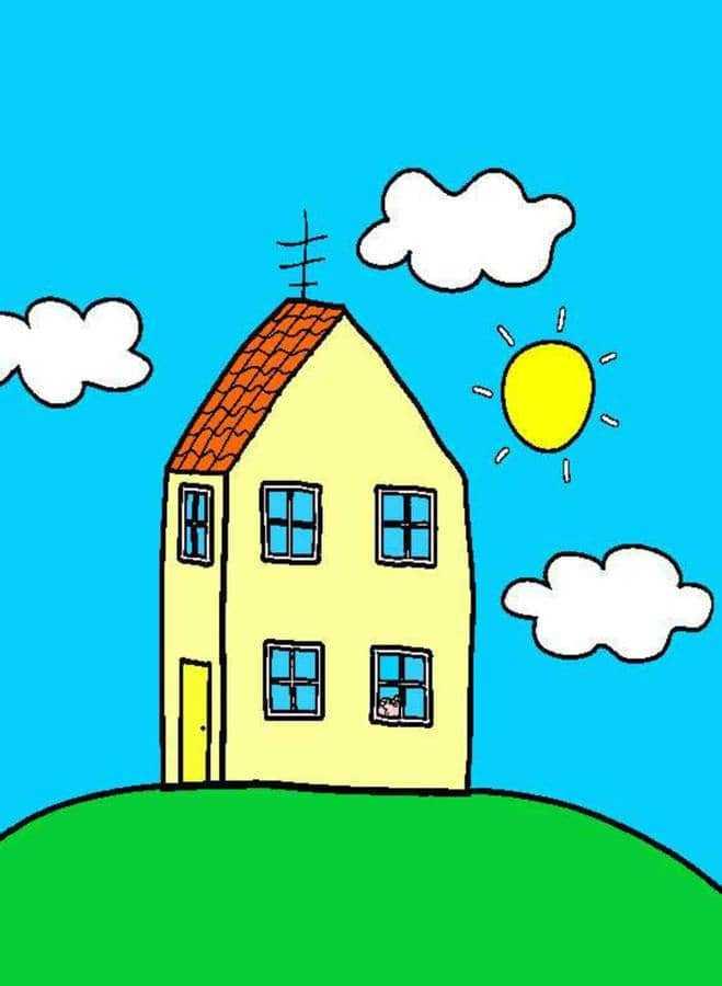 Peppa Pig House Wallpaper Nawpic