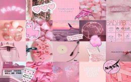 Pink Papel De Parede