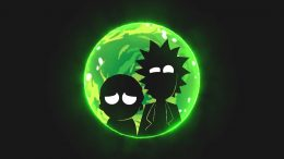 Rick and Morty Papel De Parede