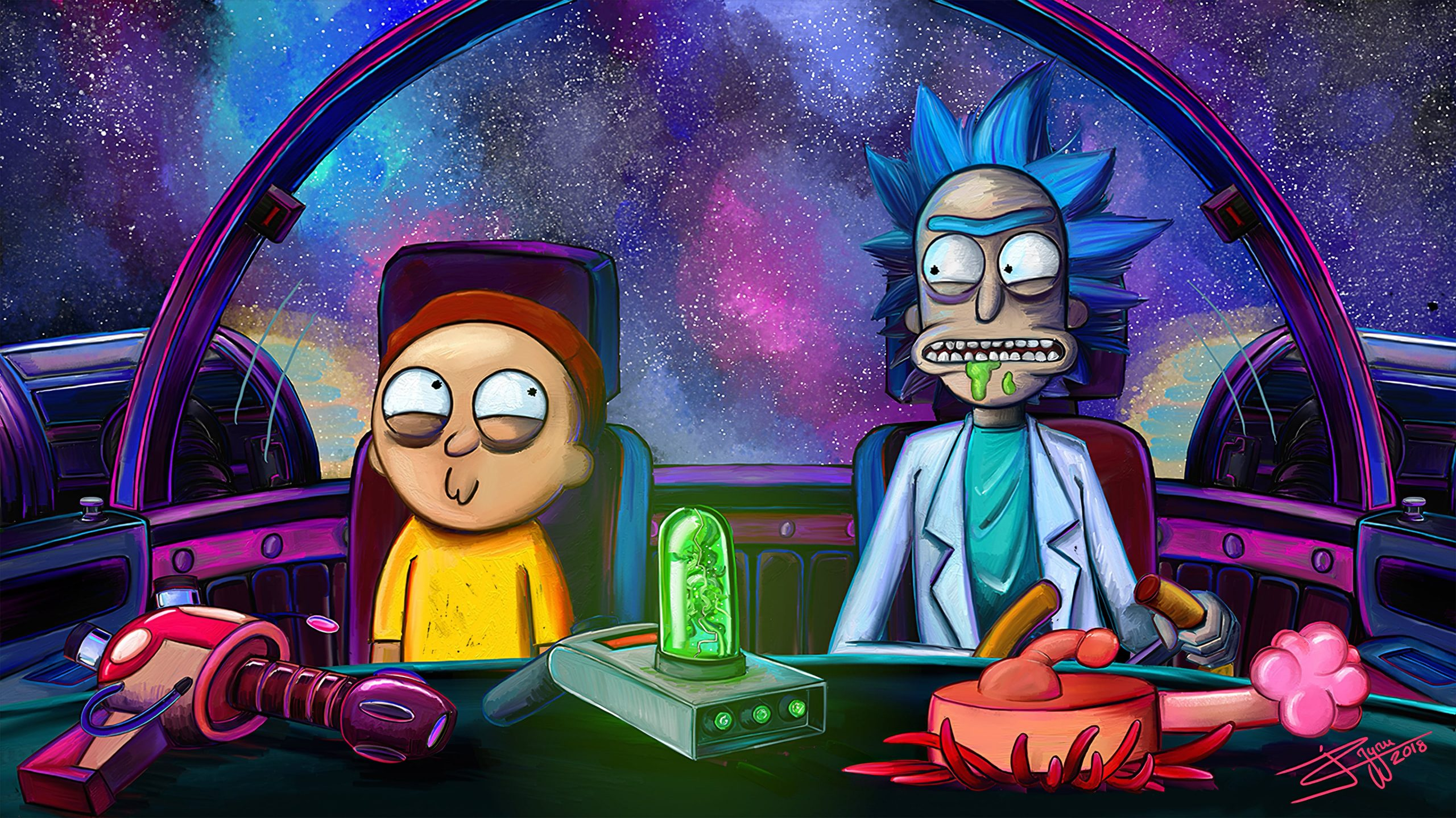 Rick and Morty Wallpaper