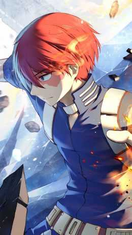 Shoto Todoroki Wallpaper