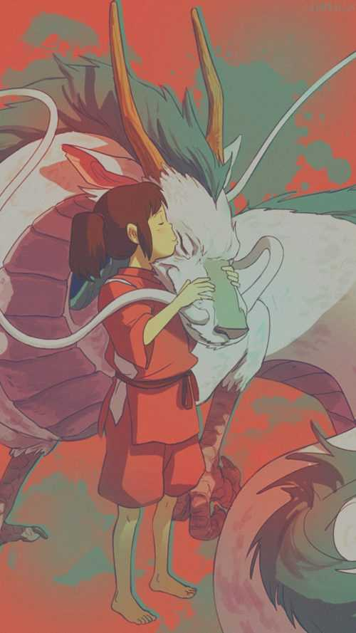 Spirited Away Papel De Parede