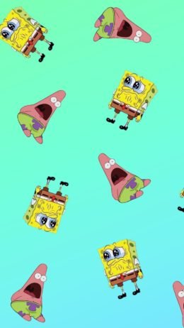Spongebob&Patrick Wallpaper