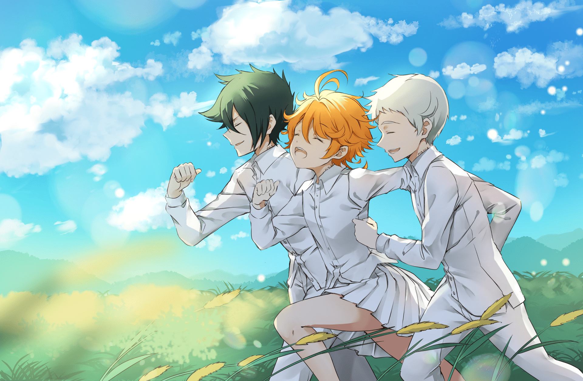 The Promised Neverland Wallpaper - NawPic