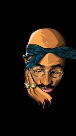 Tupac Iphone Fond d'écran