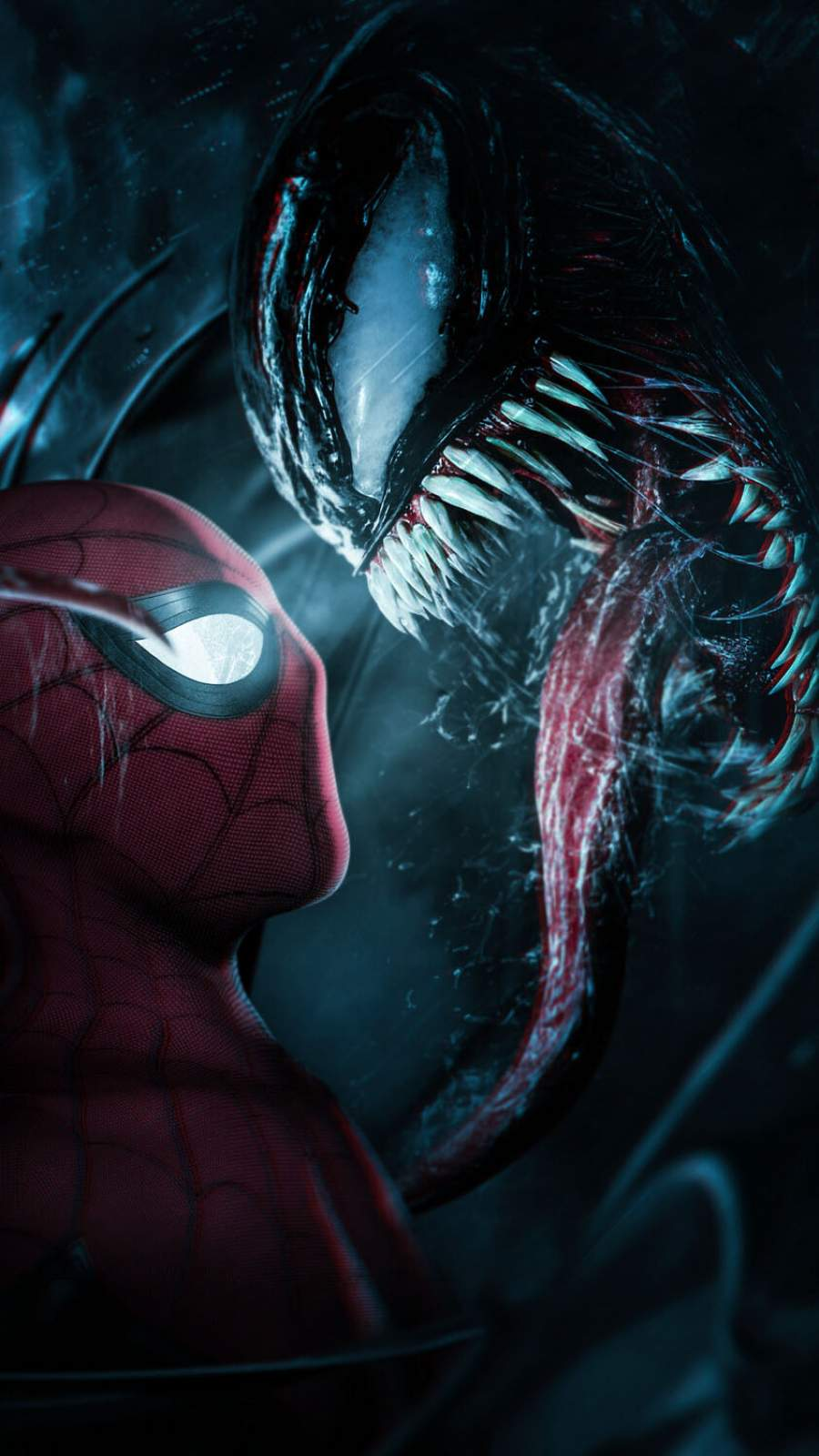 Venom Spiderman Wallpaper